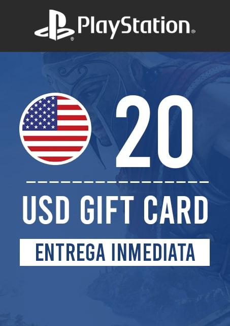 20 USD PSN (USA)