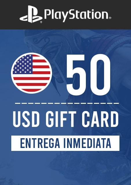 50 USD PSN (USA)