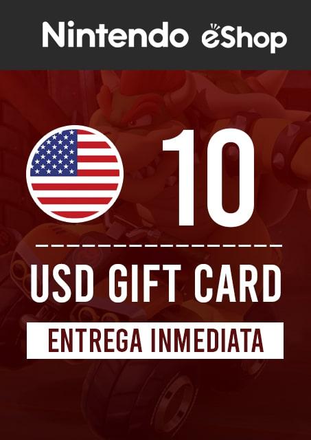 10 USD ESHOP (USA)
