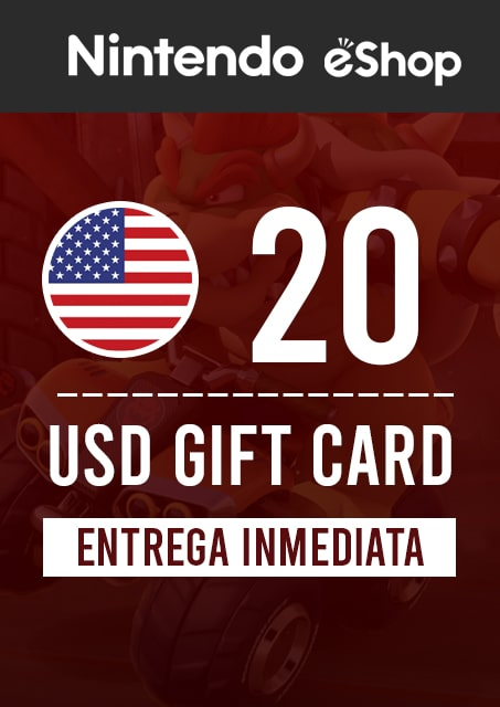20 USD ESHOP (USA)