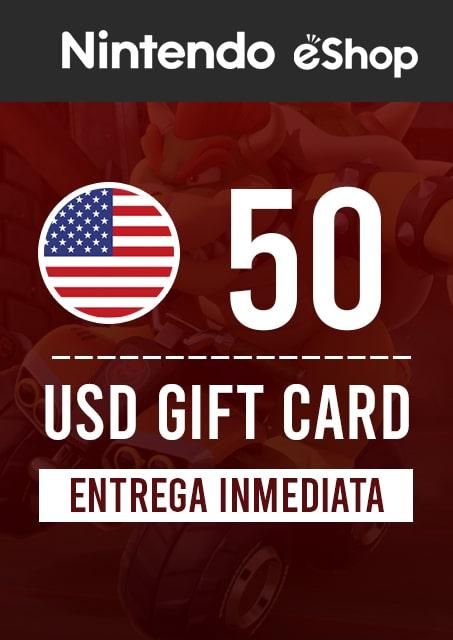 50 USD ESHOP (USA)
