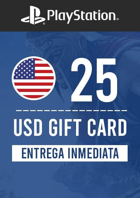 25 USD PSN (USA)