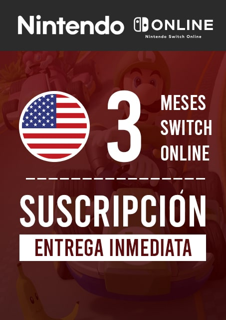 SWITCH ONLINE 3 MESES (USA)