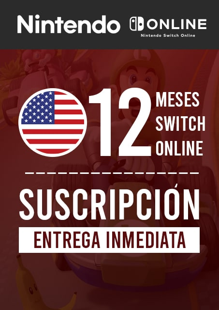 SWITCH ONLINE 12 MESES (USA)