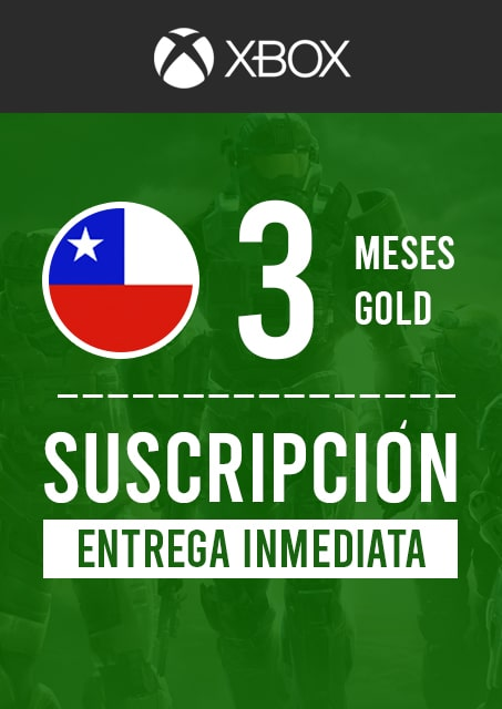 XBOX GOLD 3 MESES (CHILE)