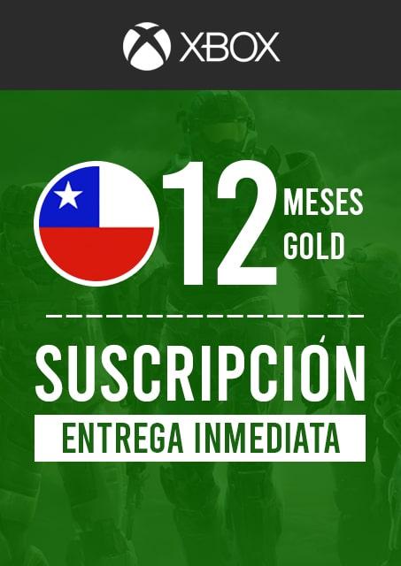 XBOX GOLD 1 AÑO (CHILE)