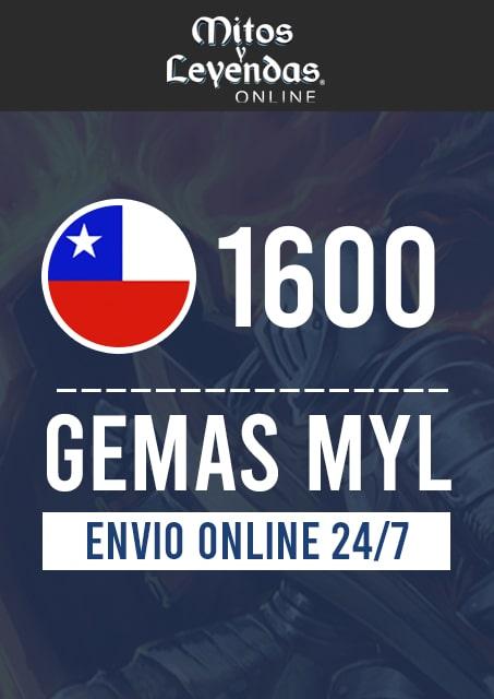 1600 Gemas MYL