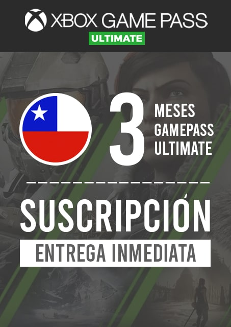 GAMEPASS ULTIMATE 3 MESES (CHILE)