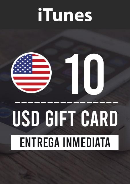 10 USD ITUNES (USA)