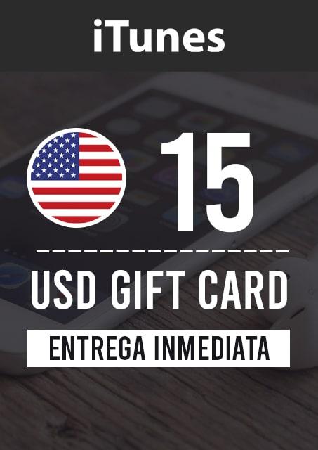 15 USD ITUNES (USA)