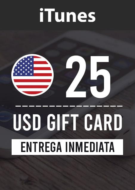 25 USD ITUNES (USA)