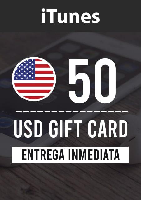 50 USD ITUNES (USA)